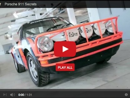Porsche 911 Secrets: SC East African Safari Rally car