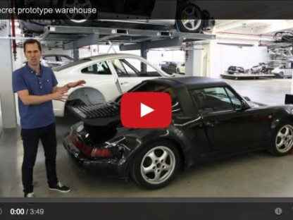 Porsche's Secret Warehouse Not So Secret Anymore. Please Just Open It Up To The Public!