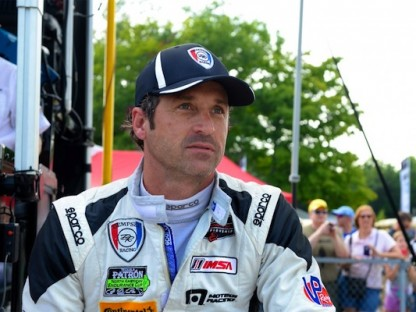 Patrick Dempsey in racing suit