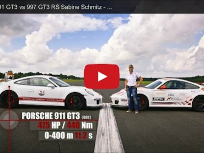 "The ""Queen Of The Nürburgring"", Sabine Schmitz Compares Her Porsche 997 GT3 RS To A 991 GT3"