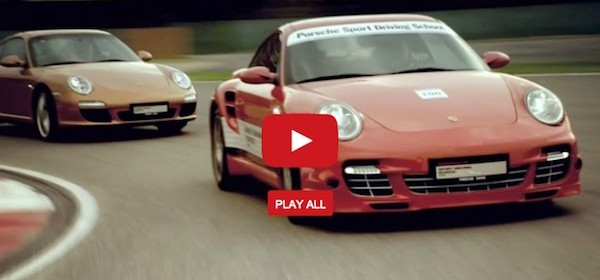 40th anniversary of porsche sports driving school video