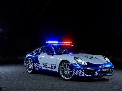Such A Shame This Porsche Police Car Will Never Be Used To Fight Crime