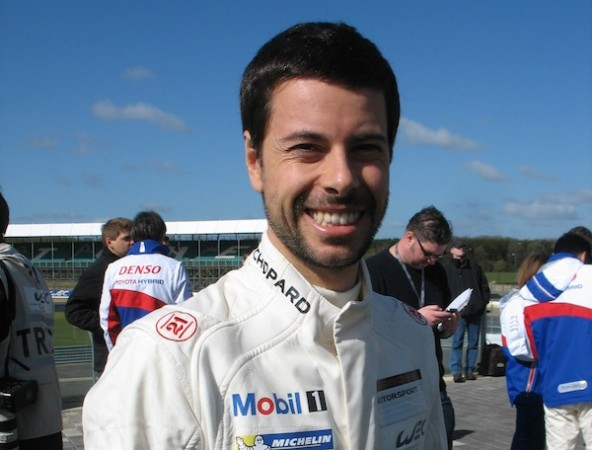 picture of porsche factory driver Fred Mako