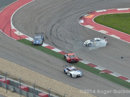 Cool Animated GIF Captures Factory Porsche 911 RSR During Spin At COTA