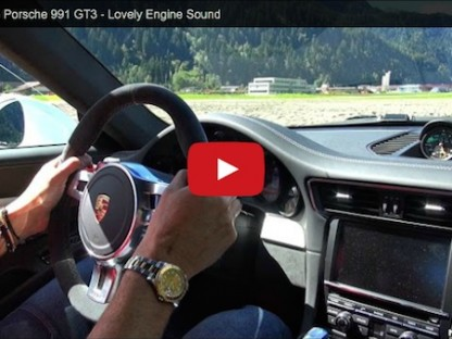 Porsche 991 GT3 Makes Easy Work Of This Autocross Course