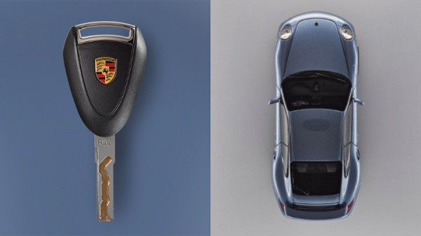 Porsche 997 Key