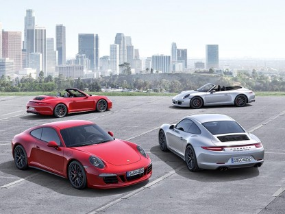Porsche's New Carrera GTS Lineup Bridges The Performance Gap Between S and GT3