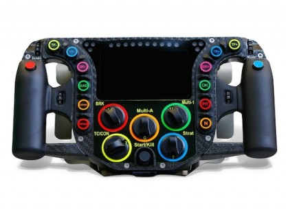 Here's What All The Buttons On The Porsche 919 Steering Wheel Control