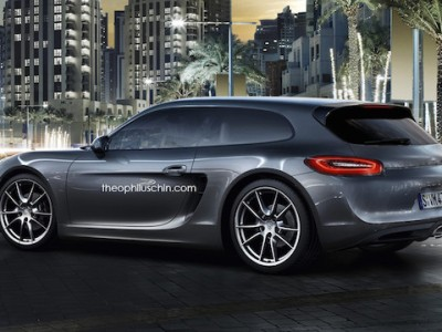 Porsche Cayman station wagon