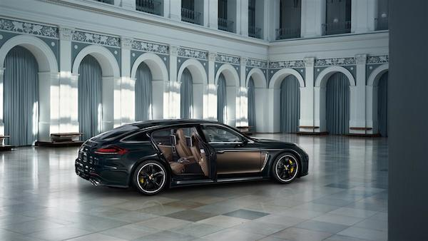 porsche panamera turbos s exclusive series side view