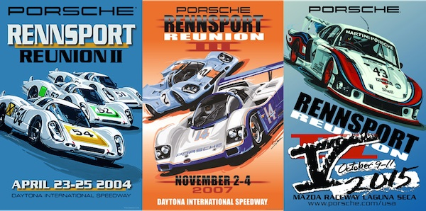 rennsport reunion posters over time
