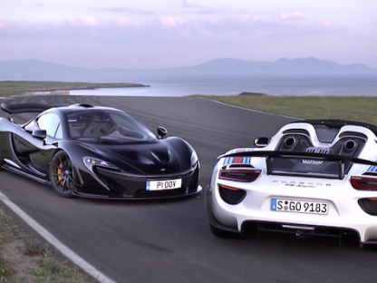 Porsche 918 Spyder Vs. McLaren P1. Which Is Faster?