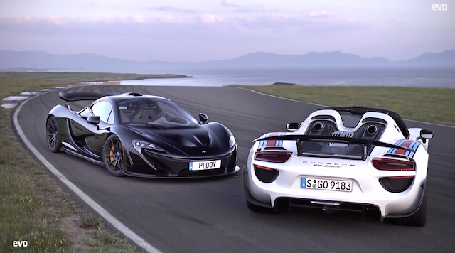 porsche 918 spyder vs mclaren p1 which is faster. Black Bedroom Furniture Sets. Home Design Ideas