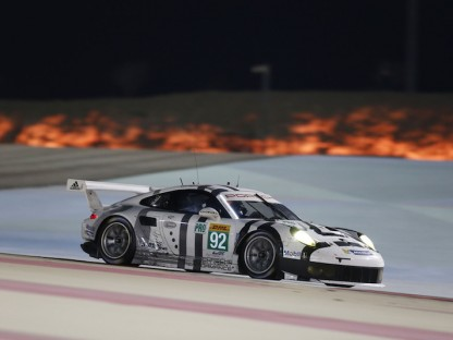 Porsche's GT Team Results And Pictures In The WEC At Bahrain