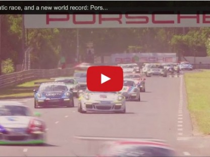 62 GT3 Cup Cars + Le Mans + 45 Minutes = New World Record