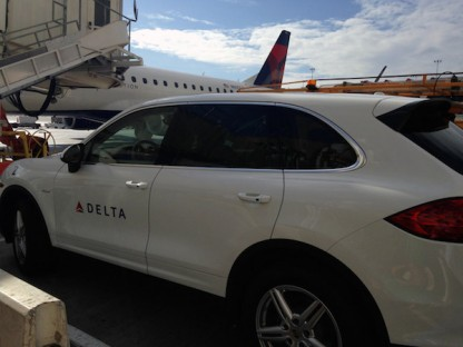 7 Airports Where A Porsche Might Meet You At The Gate When Flying Delta