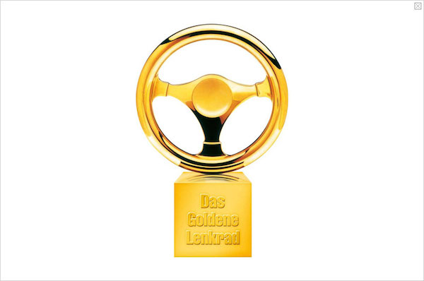Porsche 2014 Golden Steering Wheel Awards