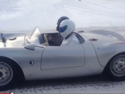 Watch Darth Vader And The Stig Drive A Porsche In The Snow