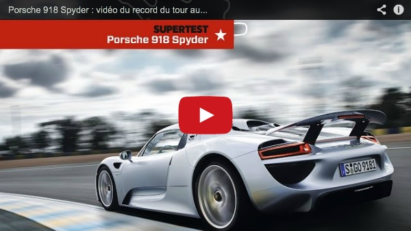 Porsche 930 For Sale >> Porsche 918 Spyder Is Fastest Production Car In The World ...