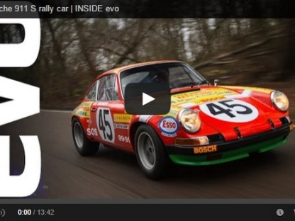 Video: EVO Magazine Drives RM Auctions' Porsche Rally-prepared 911S