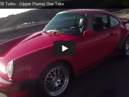 The Smoking Tire's Matt Farah Takes A Modified 930 For A Canyon Drive