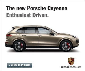 The new Porsche Cayenne Enthusiast Driven