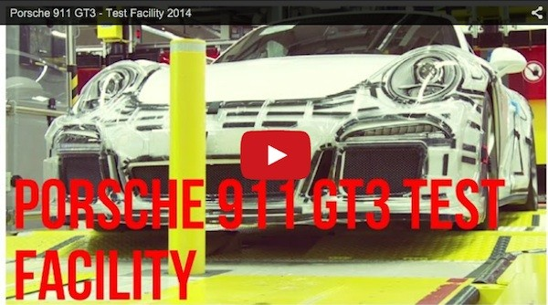 video showing final quality checks at the Porsche 911 plant