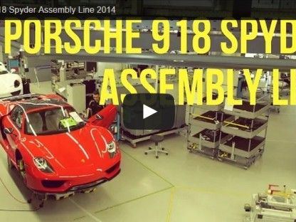 Video: The Peaceful Tranquility Of The Porsche 918 Assembly Line