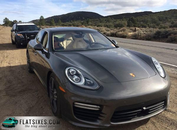 Fortunately for us, this CHP officer was a Porsche fan and, unlike the guy in this story, neither of us went to jail.