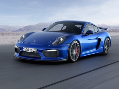 Official:  This Is The New Cayman GT4!