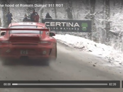 Romain Dumas Explains What It Takes To Convert A GT3 RS To A Rallye Ready 911 RGT