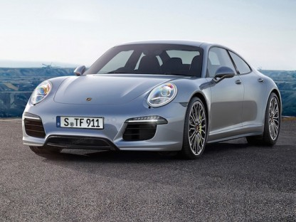 Will Porsche Build This Type 717, An All Electric Baby Panamera Designed To Compete With Tesla?