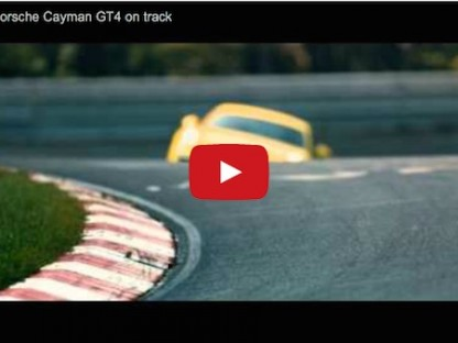 Check Out The Porsche Cayman GT4 On The Track