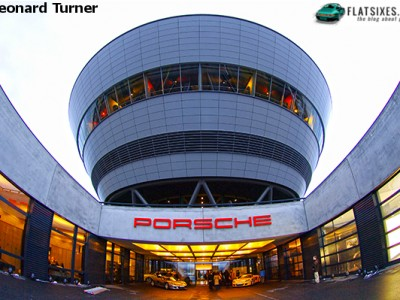 Porsche Weissach Facility photographed by Leonard Turner