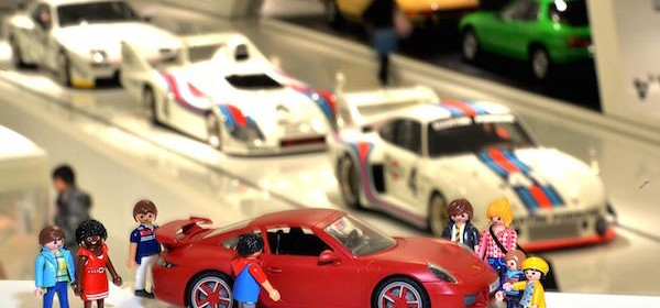 porsche playmobil carrera