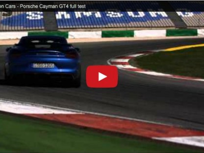 Video: Full On Track Review Of The New Porsche Cayman GT4