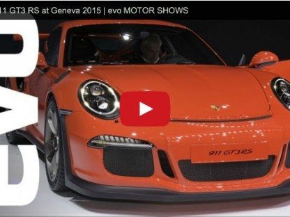 evo andreas preuniger porsche 911 gt3 rs geneva video