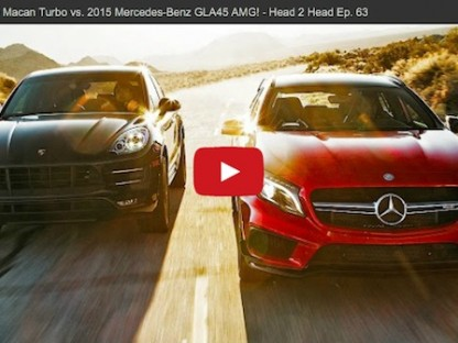 Porsche Macan Turbo vs. 2015 Mercedes-Benz GLA45 AMG