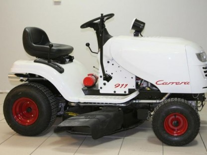 "Porsche Jumping Back Into The Tractor Market, Introduces New ""Rasentraktoren"" Model"