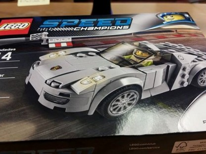 We Build Our Own 918 Spyder, With Some Help From LEGO!