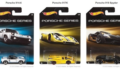Hot Wheels Porsche Series 2015