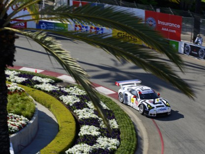 Porsche's Pictures And Results In The TUSCC At Long Beach