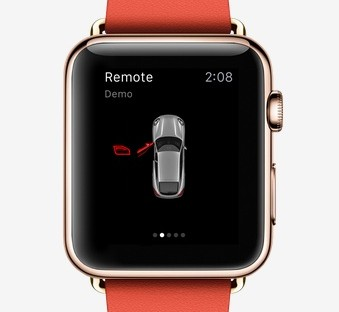 Use Your Apple Watch To Control Your Porsche