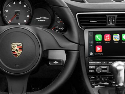 apple car play coming to Porsche