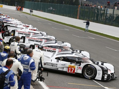 Porsche's Results, Pictures and Video From The WEC 6 Hours Of Spa