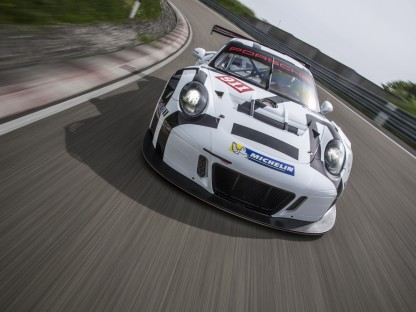 This Is The All New 911 GT3 R