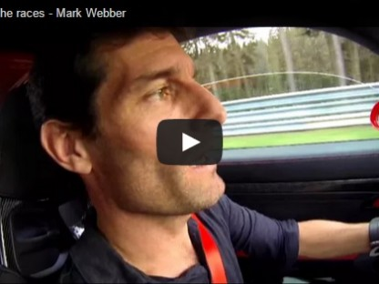 Mark Webber away from the track