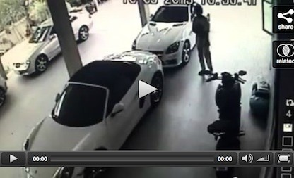 video showing man having sex with Porsche