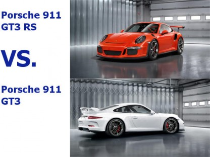The Differences Between The Porsche 911 GT3 and the Porsche 911 GT3 RS