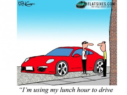 small porsche cartoon may11